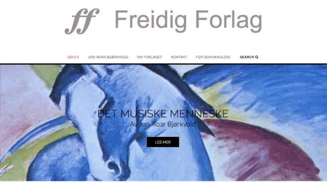 The new version of Freidig.no made by antar CAT